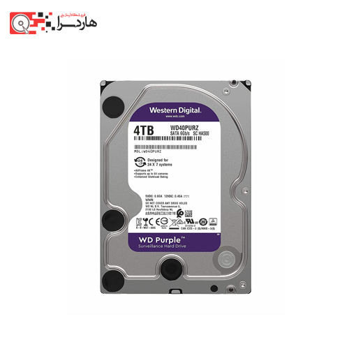 Western Digital 4TB Purple Edition 64MB Cache